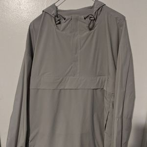Theory Hevel nylon pullover hoodie